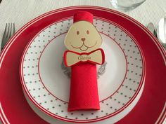 Personalised Napkin Ring Holders Baby Shower by FranJohnsonHouse