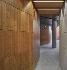 Oratory and Auditorium Retamar School,© Javier Orive