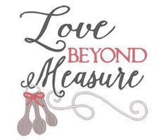 All Designs :: Love Beyond Measure