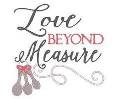 All Designs :: Love Beyond Measure