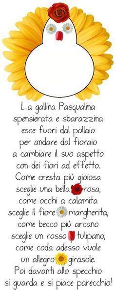 """""""La gallina Pasqualina"""" di Patrizia Nencini Primary School, Elementary Schools, Learning Italian, Easter Crafts For Kids, Happy Fathers Day, Nursery Rhymes, Teaching Kids, Happy Easter, Montessori"""