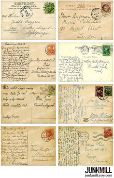 Travel Europe – The Home of Culture – Europe – Visit it and you will love it! Papel Vintage, Floral Vintage, Vintage Paper, Vintage Prints, Etsy Vintage, Old Stamps, Vintage Stamps, Vintage Labels, Vintage Ephemera
