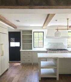 New Kitchen Interior Architecture Window Ideas Kitchen Cabinet Interior, Home Decor Kitchen, Bathroom Interior, New Kitchen, Home Kitchens, Kitchen Cabinets, Kitchen Counters, Kitchen Ideas, Red Cabinets