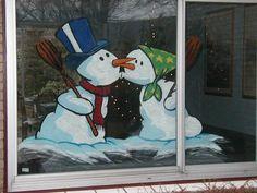 Foto dateert van 14 December 2002 Christmas Classroom Door, Christmas Wood, Christmas Snowman, Christmas Crafts, Christmas Decorations, Christmas Ornaments, Christmas Shop Displays, Wooden Snowmen, Christmas Paintings
