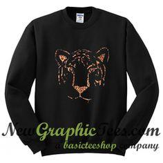 Tiger Head Sweatshirt