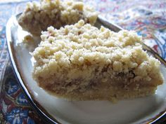 For the Love of Food!: No Bake Apple Crumble Bars (Gluten free, Egg free, Dairy free, Grain free)