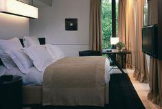 Bulgari Hotel Milano - The best hotels in Milan, Italy Bulgari Hotel Milan, Bvlgari Hotel, Milan Hotel, Hotel Milano, Superior Room, Hotel Room Design, Home Bedroom, Master Bedroom, Bedroom Ideas