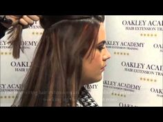 MICRO RING HAIR EXTENSION TRAINING - YouTube