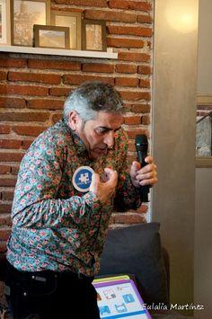 Pepepérez en Ronda de Cuentos con Autismo Ávila - 28 e Febrero - Fotografía de Eulalia Martínez