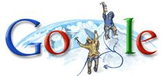 Google Doodle: Anniversary of the first ascent of Mount Everest