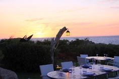 Tramonto dal ristorante del Club - Portobello di Gallura #Sardegna #sunset #Sardinia #Italy