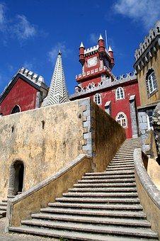 Portugal, Sintra, Cas, Arquitetura