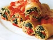 Creamy Cannelloni with Chicken, Roasted Almonds & Pine Nuts Recipe Spinach Cannelloni, Cannelloni Recipes, Pasta Recipes, Salad Recipes, Cooking Recipes, Yummy Recipes, Pasta Facil, Pine Nut Recipes, Personal Recipe