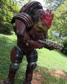 Untitled — urdnot wrex cosplay available for sell at etsy...