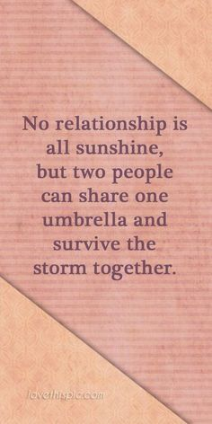 Survive the storm together.