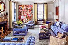 Graceful Stylish Living Room Designs – Home Interior and Design Living Room Grey, Living Room Furniture, Living Room Decor, Lounge Design, Lounge Decor, Sofa Design, Design Design, News Design, Architectural Digest