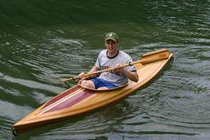 The Charlevoix, cedar strip kayak
