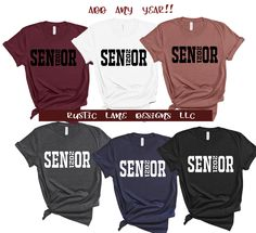 Senior 2021 Shirts, Graduation shirts, Class of 2021 shirts, Senior shirt, Varsity letter, senior block font Senior Shirts, Graduation Shirts, Varsity Letter, Block Fonts, Heat Transfer Vinyl, Unisex, Lettering, Stylish, Tees