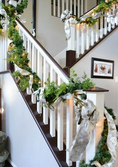 Top 40 Stunning Christmas Decorating Ideas For StaircaseWe are just a few months away from the Christmas holidays. So it's time to start looking for ways to decorate the house and bring home the holiday spirit. While living room, yard and bedroom are often given importance, minor