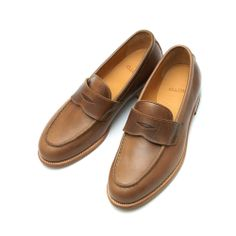 MOTO PENNY LOAFER CHROMEXCEL LEATHER NATURAL #2500