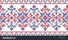 Embroidered Pattern On Transparent Background Stock Vector Illustratie 338718032…