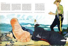 Ken Dallison, Maclean's magazine, 1957 www.kickstarter.com/projects/1502319432/ken-dallison-a-li...