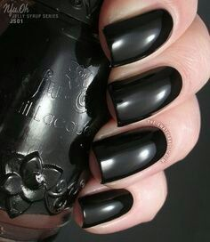 I LOVE black nail polish!!   TB