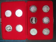 "156at.jpg ""Fireman's Silver Medallion"" collection series 1 volume 2, 2001 - 2010, contains 10 medallions each 1oz pure silver. Bids close Thurs, 15 Sept from 11am ET. http://bid.cannonsauctions.com/cgi-bin/mnlist.cgi?redbird57/156"
