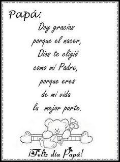 poemas para el dia del padre - Buscar con Google