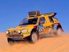 Peugeot 205 T16 Dakar Wanbergue 1990