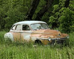 Abandoned autos | Old abandoned cars in decay                                                                                                                                                                                 More
