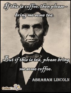 Whichever you choose, Abe, CoffeeCow.com has it covered.