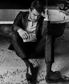 Essential Homme Magazine Theo James | Tumblr