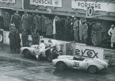 Porsche 550/4 RS (1954 24h Le Mans?)