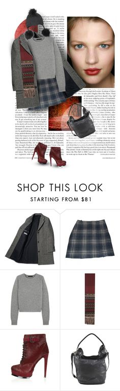 """181. Monnier Freres"" by auroram ❤ liked on Polyvore featuring Cannella, Cacharel, Alexander Wang, Etro, Topshop, Liebeskind and Inverni"