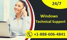 Windows Technical Support Number - +1-888-606-4841