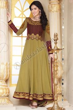 Beige and Maroon Georgette Churidar Suit. Design No. DMA12605. Price : £64.00. Quick Overview Dress Type:Churidar Suit Fabric:Georgette Colour:Beige and Maroon  Embellishments:Designed with Embroidered and Zari work. More Details Visit @ http://www.andaazfashion.co.uk/salwar-kameez/anarkali-suits/beige-and-maroon-georgette-churidar-suit-dma12605.html