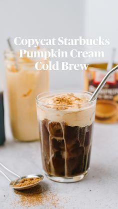 Cold Brew Coffee Recipe, Coffee Drink Recipes, Starbucks Recipes, Starbucks Drinks, Tea Recipes, Diy Iced Coffee Recipe, Thai Tea Latte Recipe, Diy Cold Brew Coffee, Ninja Coffee Bar Recipes
