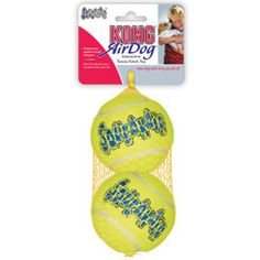 KONG Large Squeaker Ball 2-pack