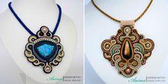 Ожерелья Aurus Jadwiga Shibori, Macrame, Ribbon, Pendant Necklace, Beads, Jewelry, Fashion, Tape, Beading