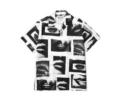 this Daidō Moriyama x Wacko Maria button up or any of the collection High Street Fashion, Shirt Print Design, Shirt Designs, Graphic Shirts, Printed Shirts, Vintage Bowling Shirts, One Clothing, Casual Tops For Women, Aesthetic Clothes
