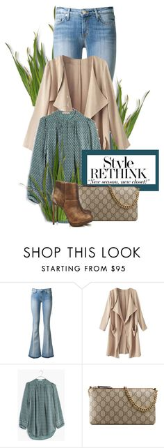 """""""Rethink your style!!!"""" by marleen1978 ❤ liked on Polyvore featuring Hudson, Madewell, Gucci and Wallis"""