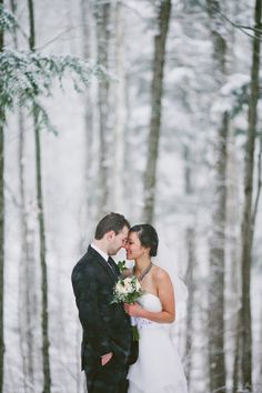 Winter White Wedding. Speechless. - Eyekahfoto: Creative Engagement, Wedding, Portraiture & Lifestyle Photography. Toronto, Canada