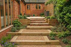 Contemporary garden. Landscaping project near Banbury. Designed by Sally Hopkinson. | The Gardenmakers
