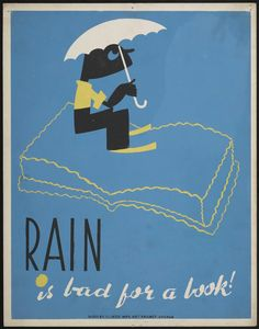 This group of five posters by graphic artist Arlington Gregg, commissioned during the latter half of the 1930s by the Illinois division of the Works Progress Administration'sFederal Art Project,instruct young library patrons in good book hygiene. On each, an impish figure demonstrates the negative behavior that book-lovers should strive to...