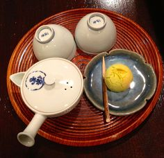 Japanese tea time at Ippodo Tearoom, Kyoto 一保堂茶舗