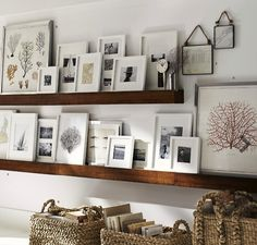 5 Tips for a Creative Gallery Wall #potterybarn