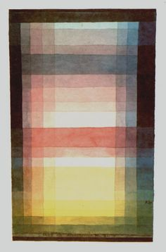 Paul Klee - Architecture of the Plain (1923)
