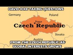 David Icke Takes Questions from people in the Czech Republic