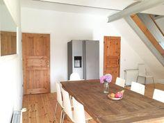 Moderne Küche I Ferienhaus am Beetzsee, in Lünow, 4 Schlafzimmer, für bis zu 12 Personen. Natur genießen auf dem Land in großem Ferienhaus mit wunderschönem Garten